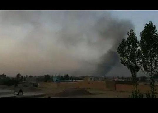 GUN FIRE AT KABUL UNIVERSITY - COPS SURROUNDED