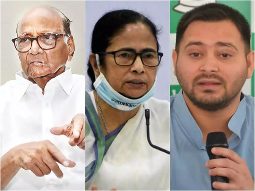 Congress MP asks Pawar, Tejaswi not to campaign for Mamata in Bengal