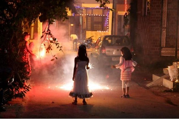 NGT imposes a total ban on firecrackers in NCR from midnight of November 9-10.