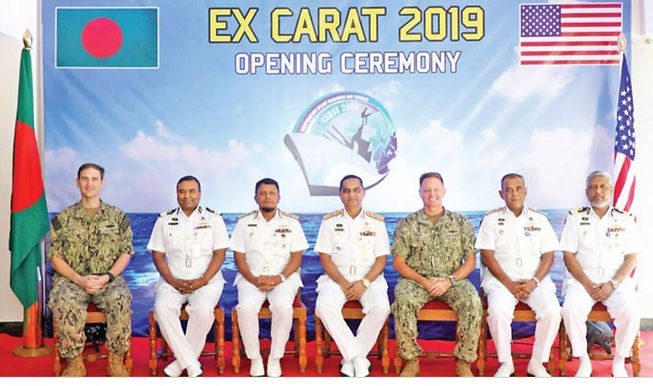 Bangladesh, US launch joint naval exercise 'CARAT Bangladesh 2020'