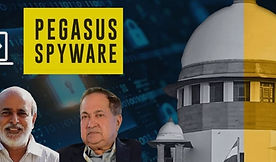 """""""Right to privacy extends to control over one's mobile phone:"""" Journalists N Ram, Sashi Kumar move Supreme Court for probe into Pegasus scandal"""