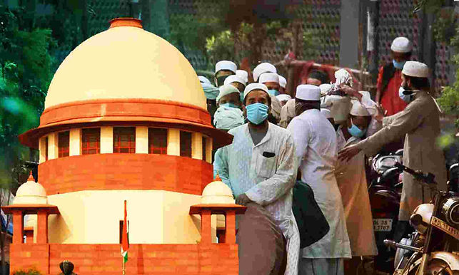 Facilitate Return Of 36 Foreigners who were acquitted this statement asked by the Supreme Court to centre for Tablighi jamaat