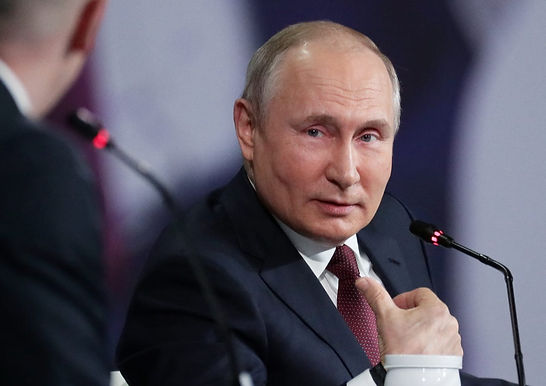 """There are no """"contradictions"""" in Russia's partnership with India or the relations between Moscow and Beijing : Vladimir Putin."""