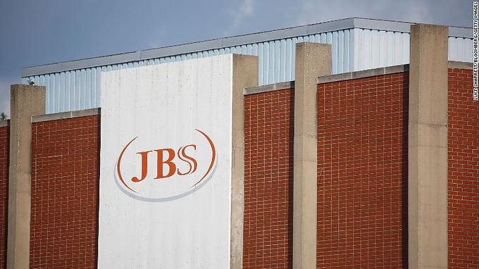 """""""JBS ,the world's largest meat processing company, targeted by a cyber attack"""""""