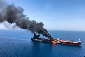 Iran is being blamed by Israel for a deadly oil ship attack