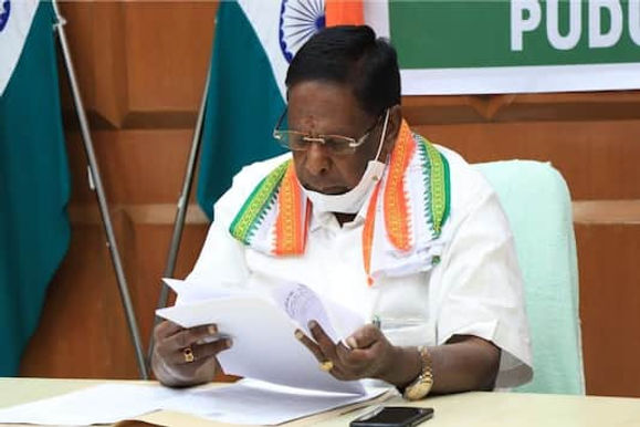 Congress Releases Candidates List for Puducherry Polls, Ex-CM Narayanasamy Doesn't Find Place