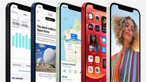 New iPhones for faster networks