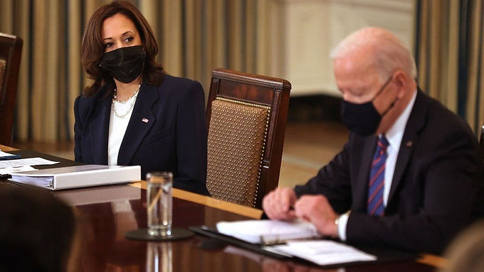 """""""Biden tasks Harris with tackling migrant influx on the US-Mexico border"""""""