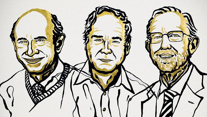 Physics  Noble  Prize  awarded to British ,German and American scientists for black hole research