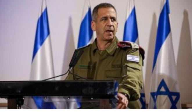 """Israeli military chief warns of new plans to strike Iran"""
