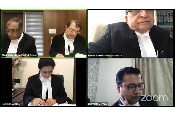 Gujarat HC becomes the first court to live stream court proceedings on YouTube.