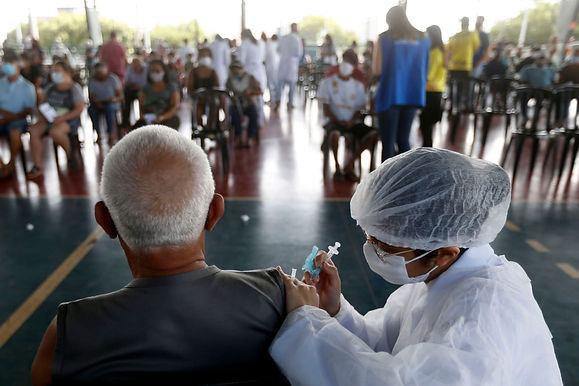 """""""95 percent reduction in Covid-19 deaths since almost all adults were vaccinated in Serrena, Brazil"""""""