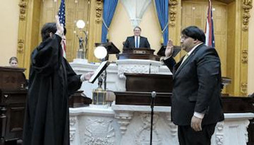 Indian-American Niraj Antani becomes the first from community to be Sworn-In As Ohio Senator