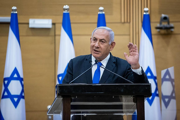 """""""Benjamin Netanyahu  lashed out at the newly agreed coalition set to remove him from power"""""""