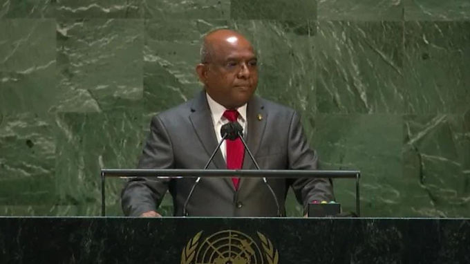 Maldives' Foreign Minister Abdulla Shahid elected president of 76th session of UN General Assembly