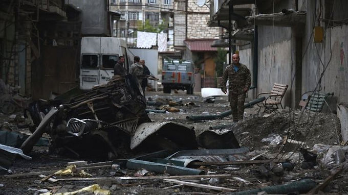 Nagorno-karabakh says   death toll among its military rises to 604 since start of conflic