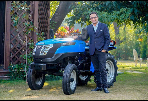 Sonalika Tiger Electric tractor launched: Price, specs, charging time.
