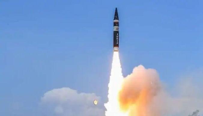 India successfully tests an Agni-Prime missile with a strike range of 2000 kilometres off the coast of Odisha.