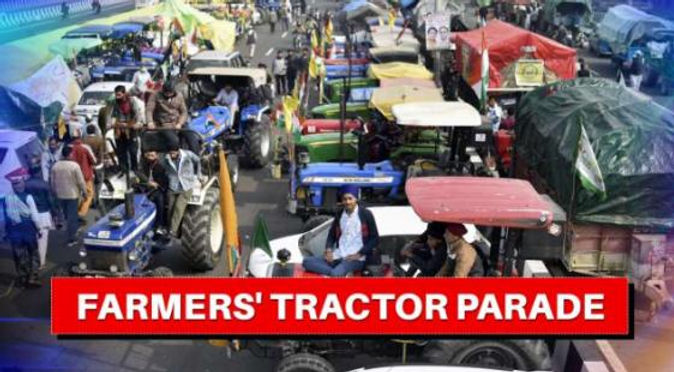 Mega tractor rally on Republic Day to protest against farm laws