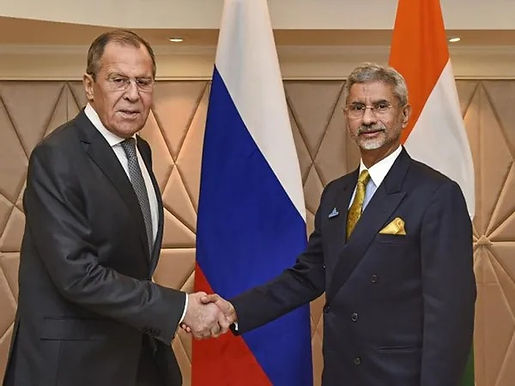 """""""Russian foreign minister Sergey Lavrov arrives in India today"""""""