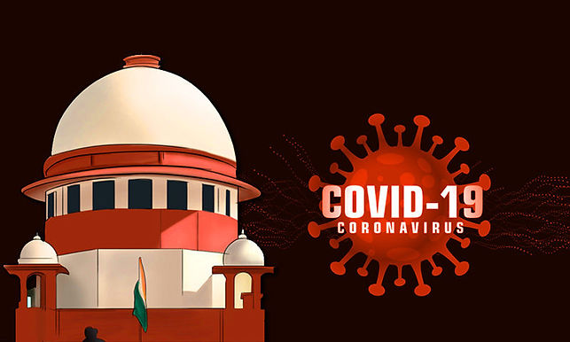 Judgement on legality of pasting posters outside  homes of Covid -19  patients : Supreme Court reserves