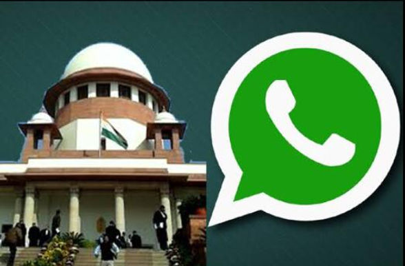 'Privacy Of People More Important Than Your Money' :Supreme Court Issues Notice On Plea Against What'sApp's New Privacy Policy