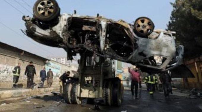 """US watchdog: Taliban attacks increased in Afghan capital"""