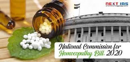 Laws to Constitute National Commissions for Homeopathy and Indian Medicine get Presidential Assent.