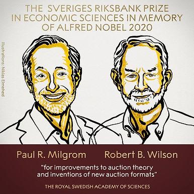 2020 Nobel in Economics Awarded to Paul Milgrom and Robert Wilson