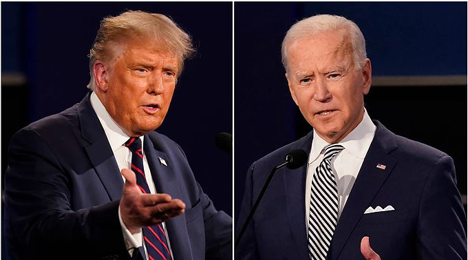 Election Result of 'US' 2020 ,Trump moves Court in counties and Biden Bides time for six more votes.