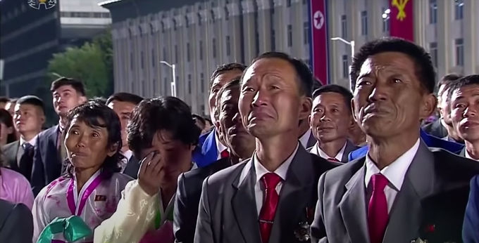 Kim Jong Un sheds tears in rare apology for his leadership failure In a rare apology for his failure
