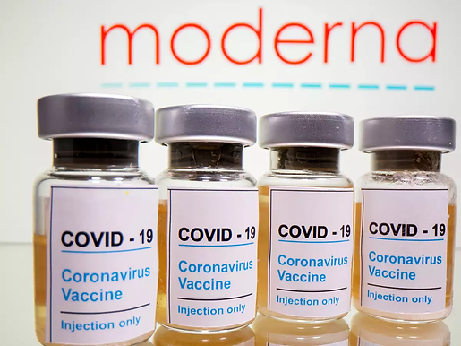"""""""Britain approves Moderna's Covid-19 vaccine for use"""""""