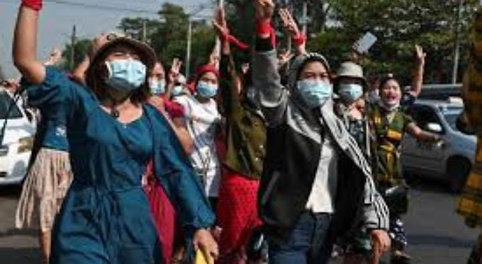"""""""Myanmar junta frees hundreds held for anti-coup protests"""""""