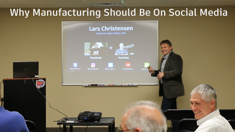 Why Manufacturing should be on social media