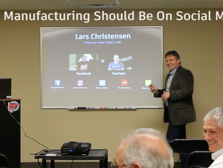 Why Should Small-Midsize Manufacturing Be On Social Media— Haas Demo Day 2017