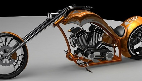 Learning Solidworks while dreaming of open roads