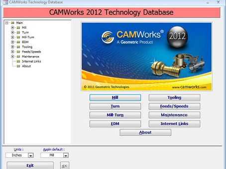 How to save back your shop knowledge to CAMWorks TechDb
