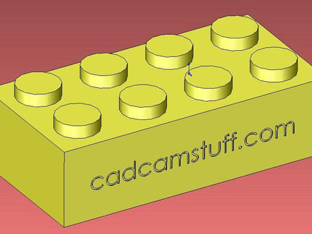 Play-Good Part1, Solidworks into Mastercam