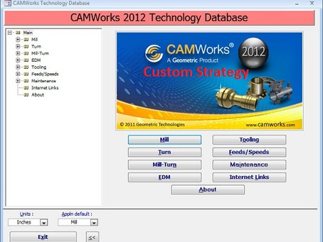 How to add your custom strategy right into CAMWorks techdb