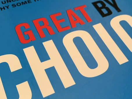 Great by Choice: Uncertainty, Chaos, and Luck- 1-minute read