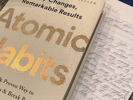 Make The Change With Atomic Habits - 2 minute read