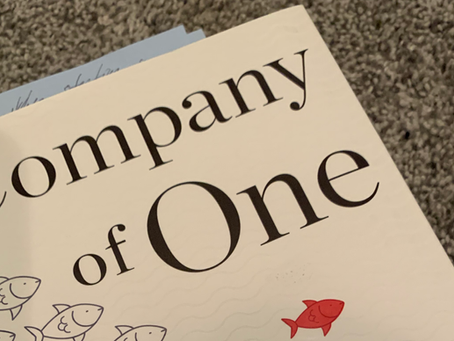 Company of One: Why Staying Small Is the Next Big Thing for Business - 2 minute read