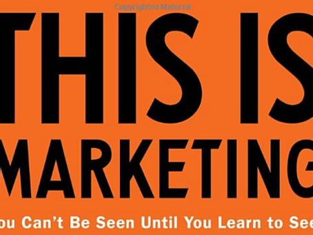 This is marketing by Seth Godin - 1 minute read
