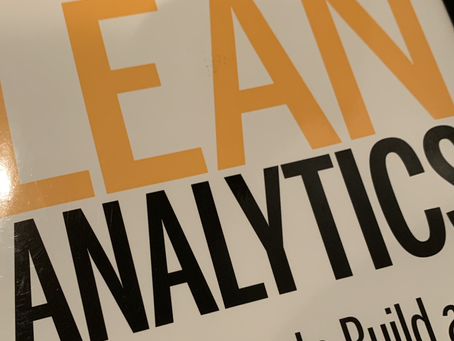 Learn with Lean Analytics - 1 Minute read