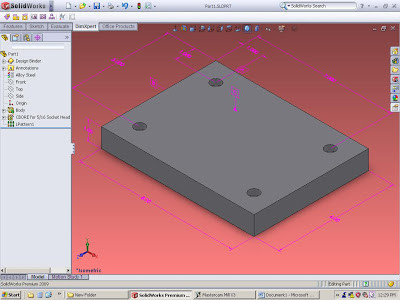 Solidworks or Mastercam, It dosn't matter, Do it right