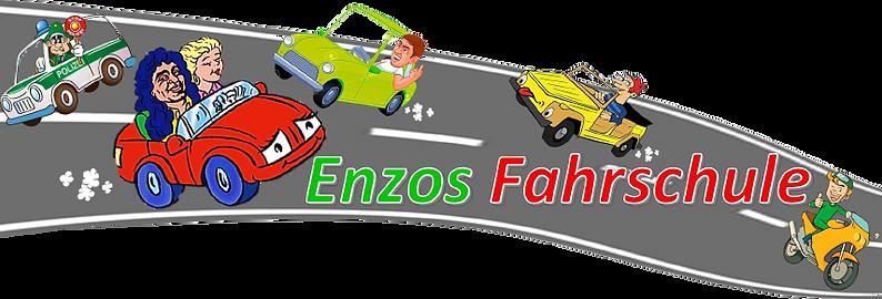 Banner Fahrbahn, Logo+Auto+Schriftzug, f
