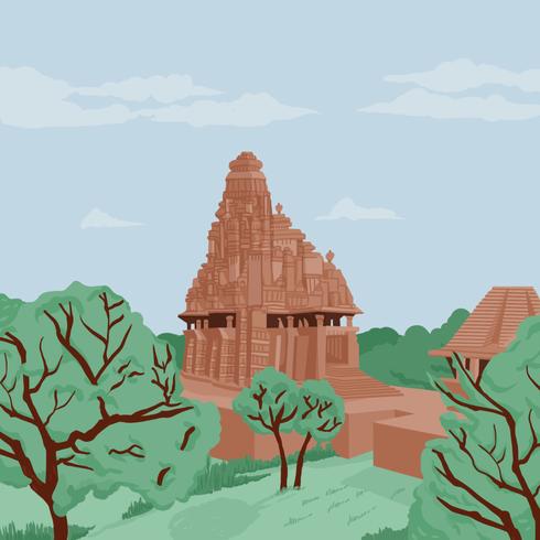 L'Inde, un temple indien