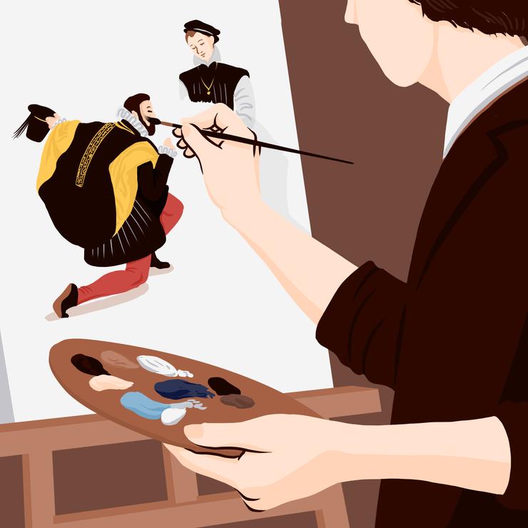 La peinture à l'huile