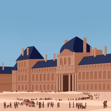 La France, le Louvre