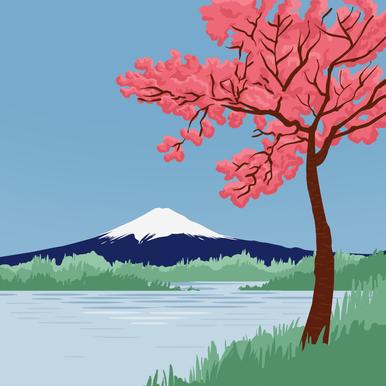 Le Japon, Mont Fuji